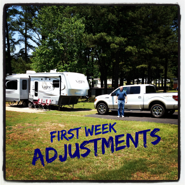 First Week Adjustments – Living Light in an Open Range