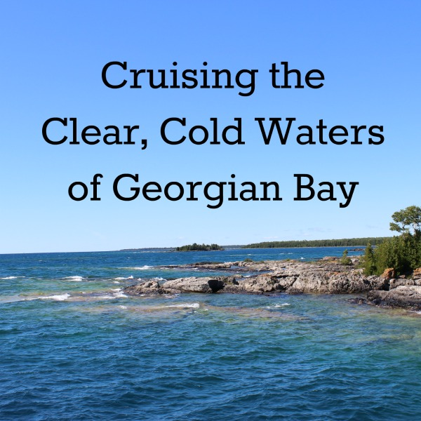 Cold, Crystal-Blue Water and Rocks: Tobermory Ontario