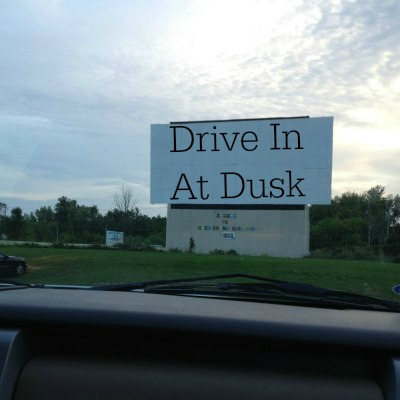 Drive In At Dusk